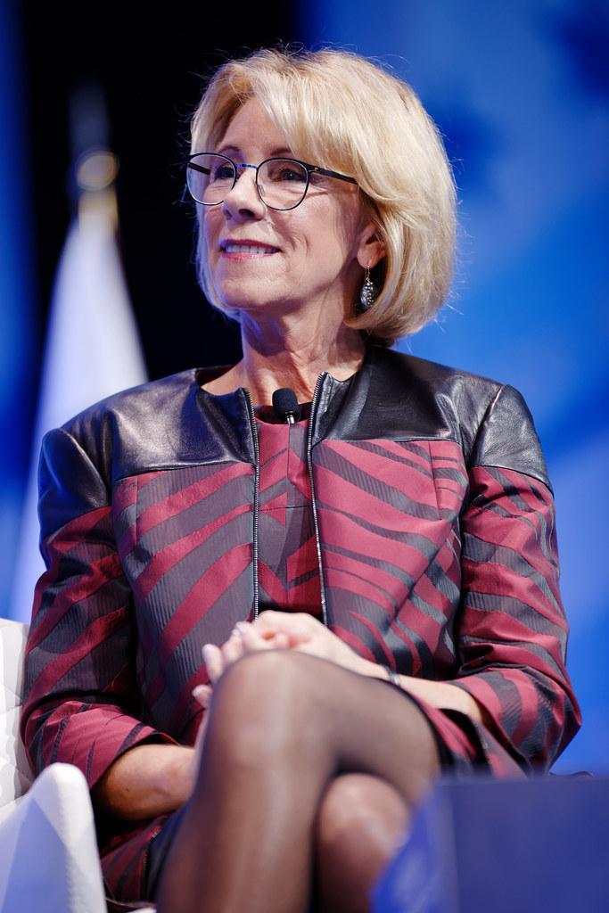 Secretary Of Education Betsy Devos At Cpac 2017 Feb 23rd 2