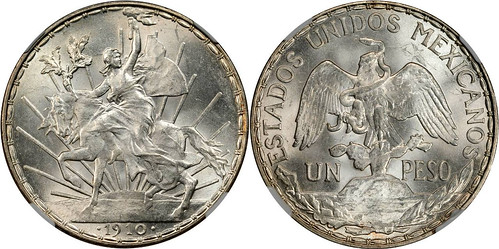 1910 - Mexico_1910_peso_obv_Ponterio_169-113932
