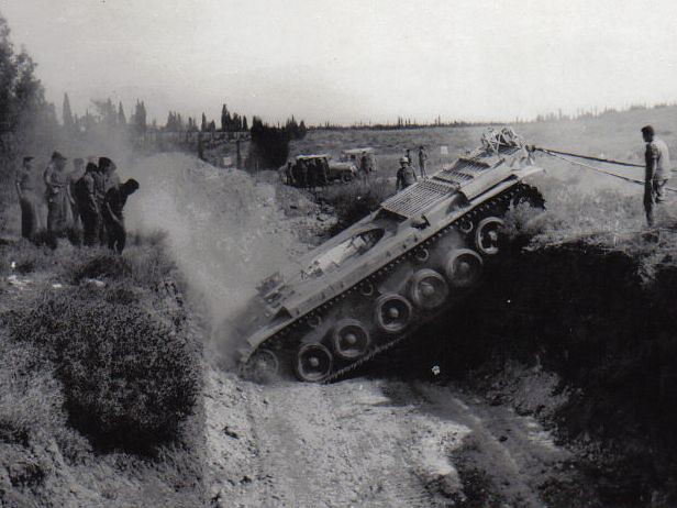Turretless-centurion-at-ditch-crossing-exercise-f-1