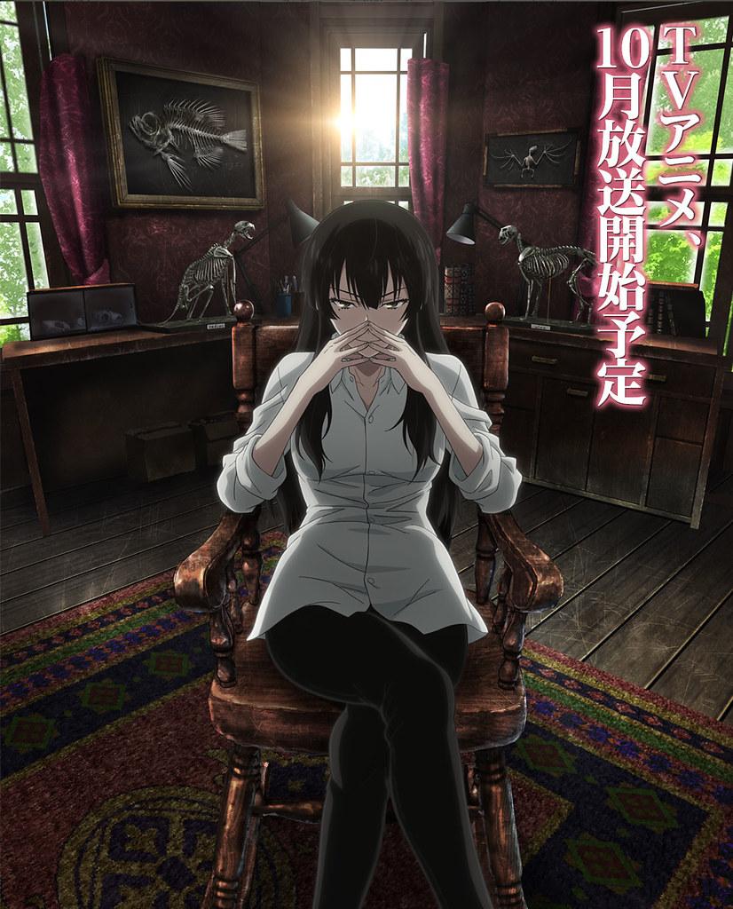 150818(2) -「伊藤静×今村彩夏」二大女主角!10月偵探動畫《櫻子小姐的腳下埋著屍體》發表聲優&預告片!