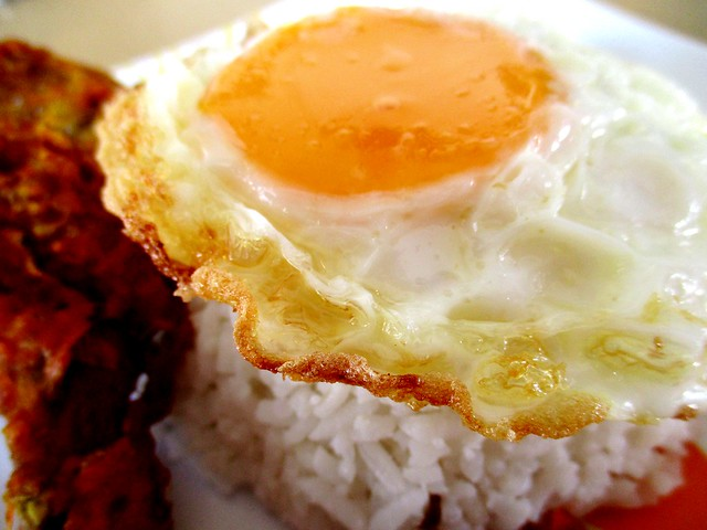 Ing Choon, Malay stall fried egg