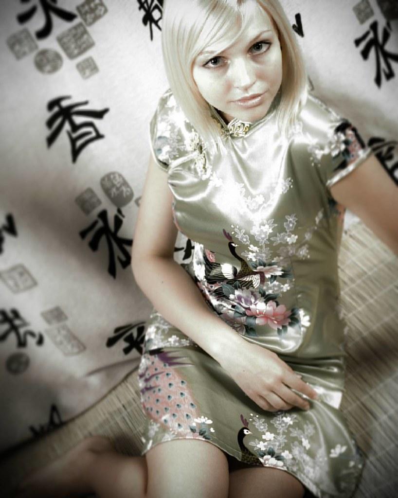 Красивая девушка блондинка секси фото