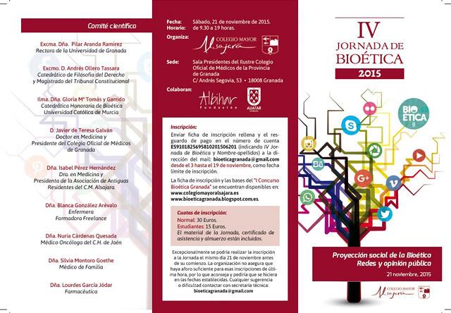 IV Jornada de Bioética