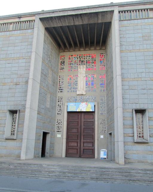 Doorway, Eglise Notre Dame de Victorie St Louis, Lorient