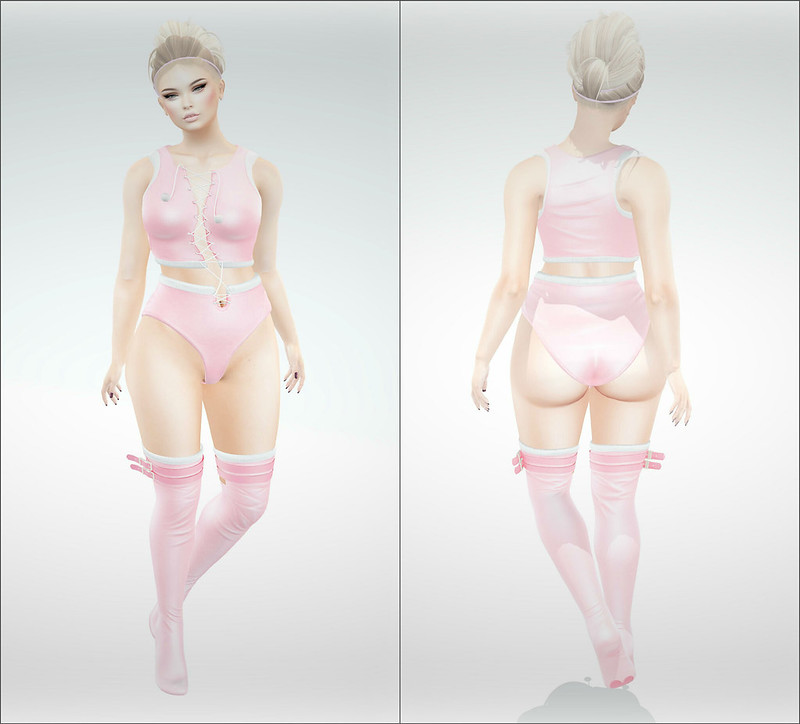 Pinky Girl Collage