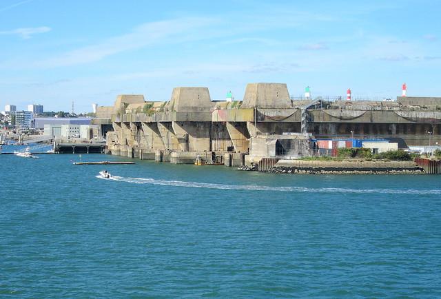 Submarine Pens, Lorient 3