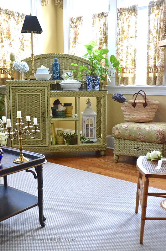 Sunroom-Chinoiserie-Wicker-Housepitality Designs