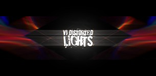 VJ Distorted Lights (4K Set 10)