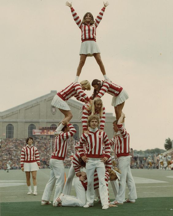 badger cheerleaders