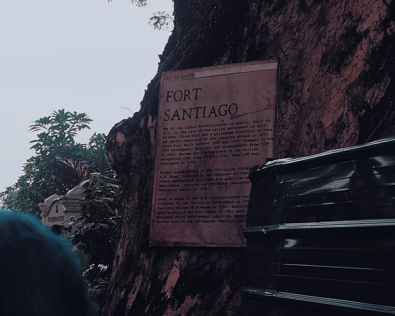 fort santiago blog