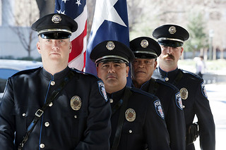 Bench dedicated to fallen SMU Police Officer Mark McCullers
