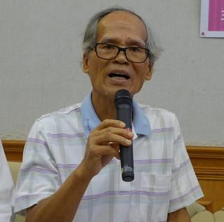 林內焚化廠的行政訴訟原告居民吳德雄