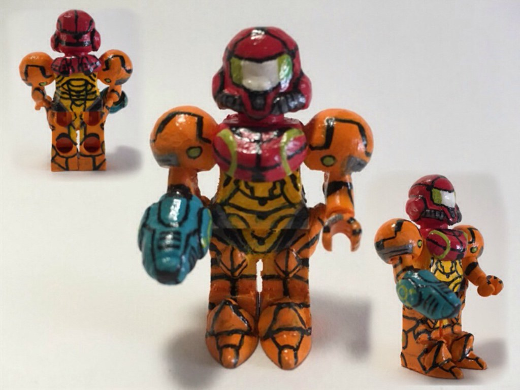 Samus Aran: A LEGO® creation by James LasagnaBoy : MOCpages.com
