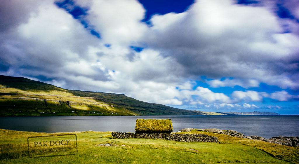 A House In A Fjord Of Streymoy Faroe Islands Faroese
