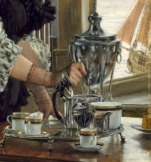 tissot, james jacques - Tea-Time 2 (Detail) | by Amber Tree