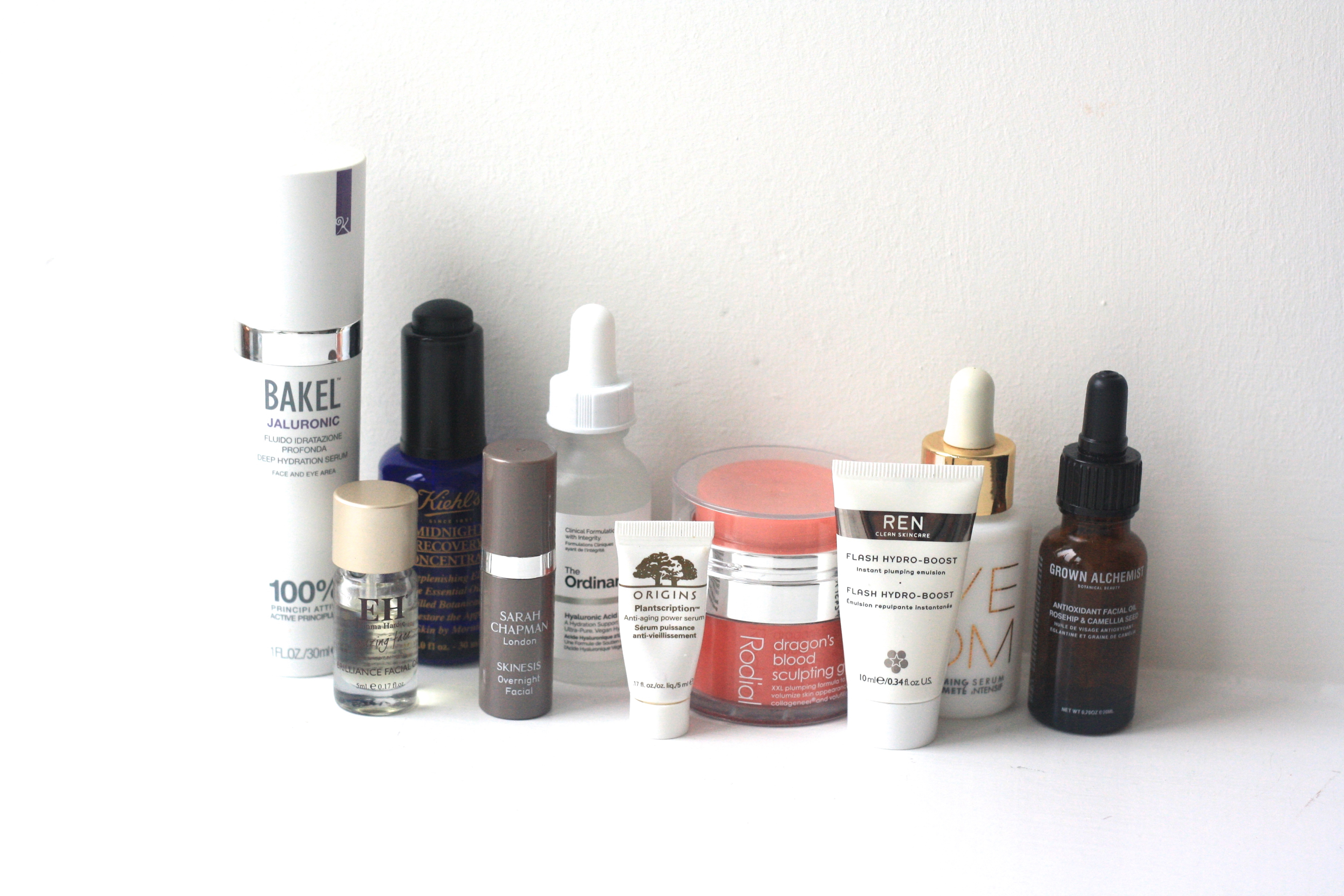 beauty review face serums