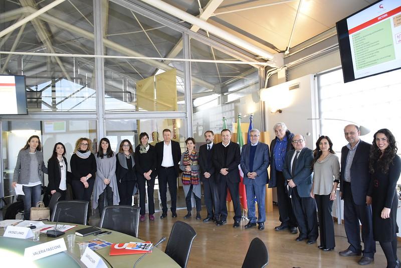 Visita delegazione iraniana per l'avvio dell'Italy-Iran Week