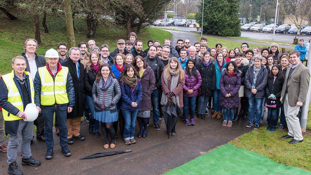 Group of Milner Centre staff