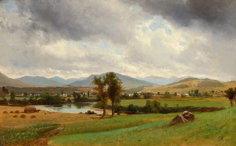 David Johnson - Pastoral Scene (1867)
