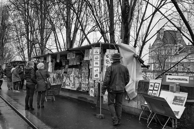 Paris booksellers
