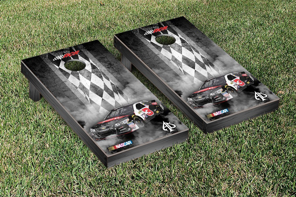 AUSTIN DILLON #3 CORNHOLE GAME SET PIT ROW VERSION