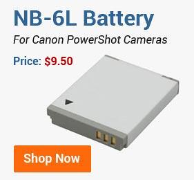 NB-6L Battery