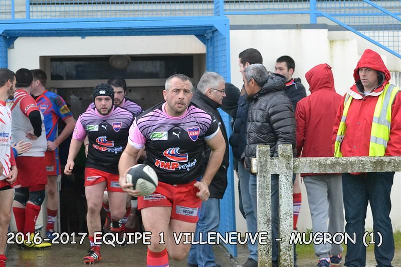 2016-2017 SENIORS 1 VILLENEUVE - MUGRON