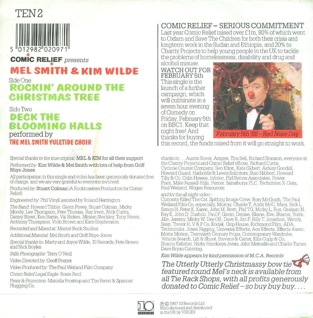 Wilde, Kim & Mel - Rockin\' Around The Christmas Tree - UK …   Flickr