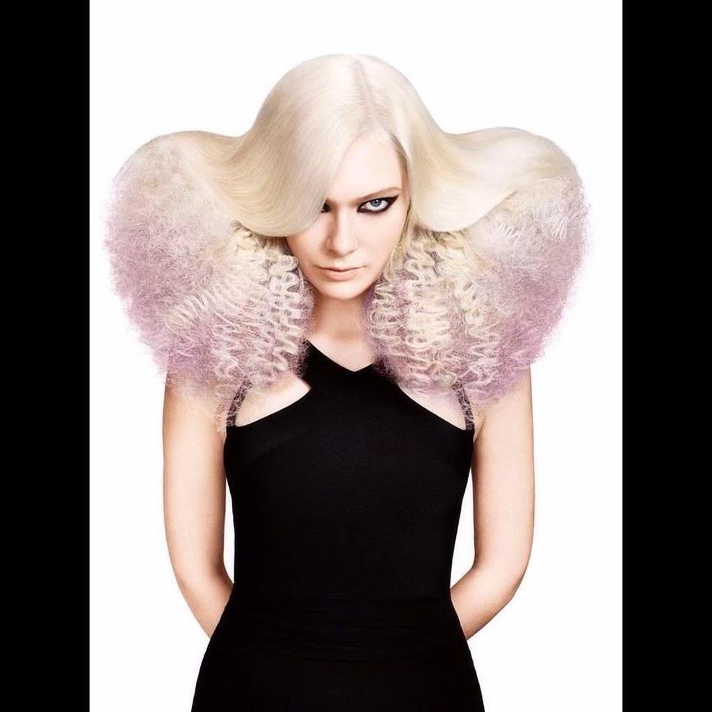 ArtistKelly Scott Avantgarde Hair Model Hairstyles Haircolor Haircut