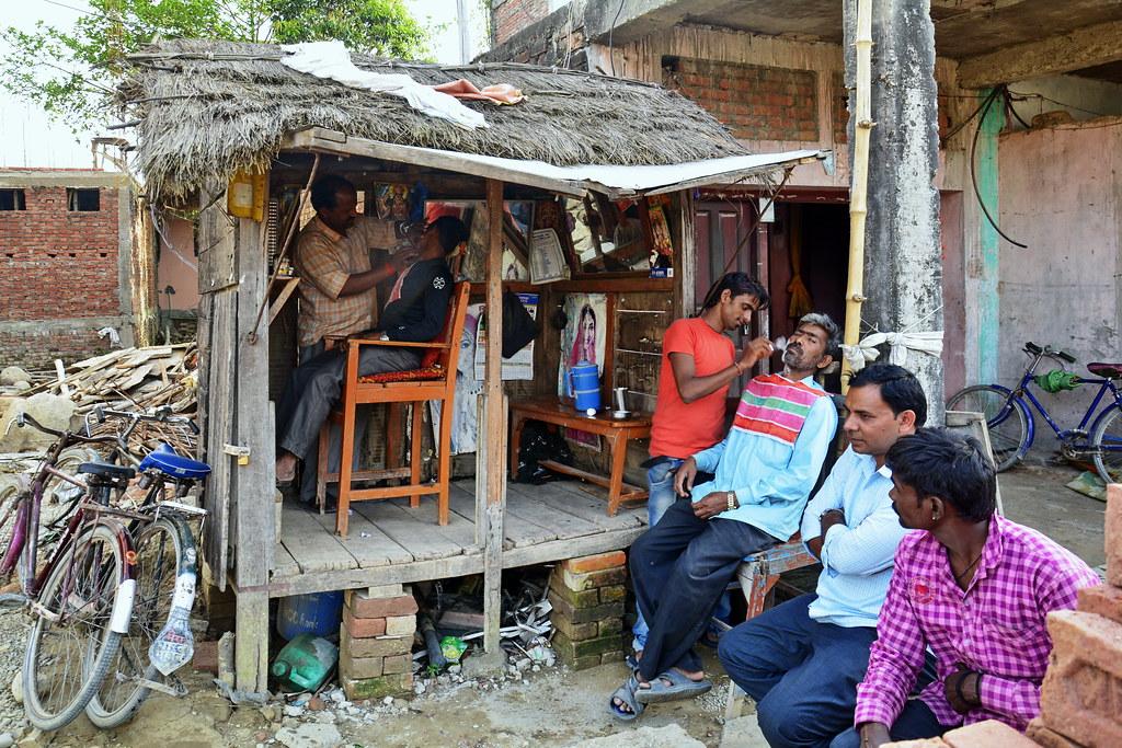 Nepal Lumbini Village Life Barber Saloon 15 Flickr