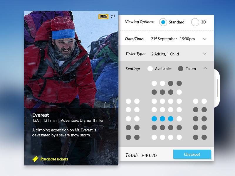 Everest Cinema App 2