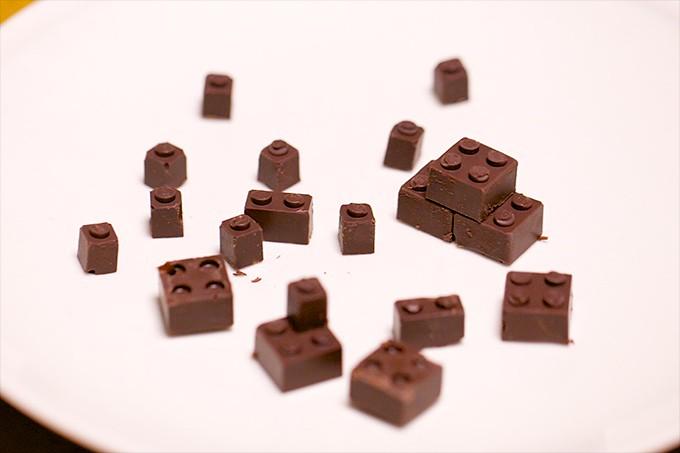 Chocolate LEGO 11