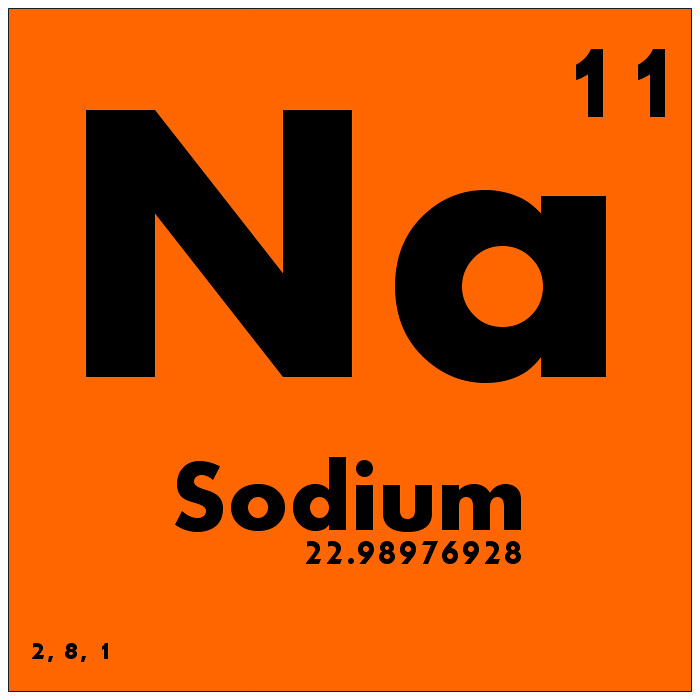 011 Sodium Periodic Table Of Elements Watch Study Guide Flickr