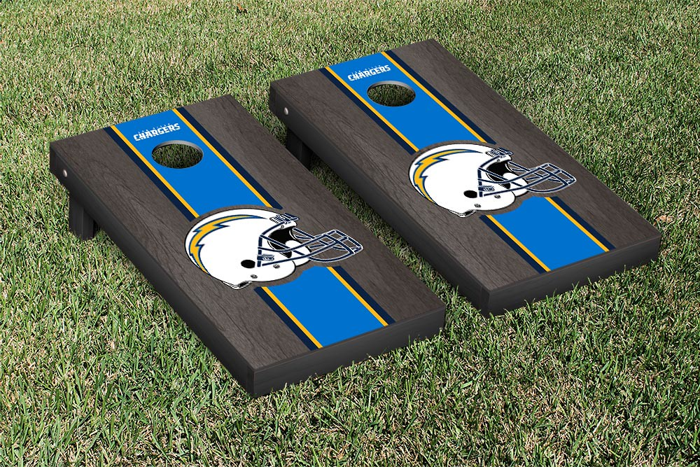 San Diego Chargers Onyx Stained Stripe Version