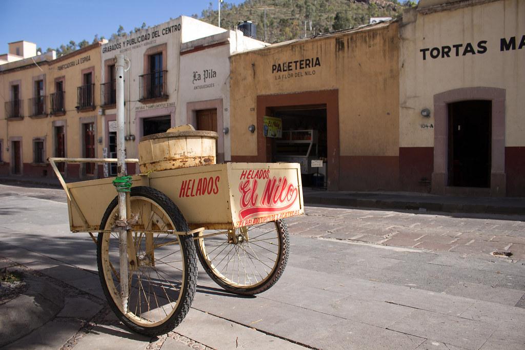 Dvoukolak Se Zmrzlinou Zacatecas Mexico Profesor Mozekson Flickr