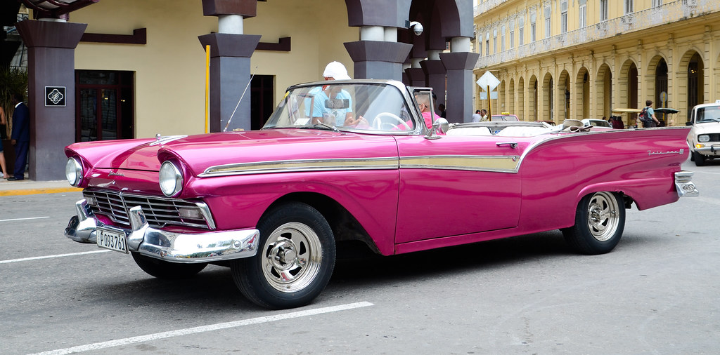 1957 Ford Fairlane 500 Sunliner Convertable