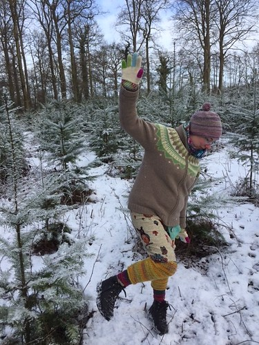 knitter in the snow4