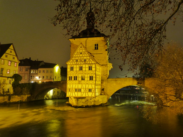 Viejo ayuntamiento de Bamberg (Norte de Baviera, Alemania)