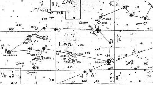 VCSE – VEGA 3 – Oroszlán csillagkép