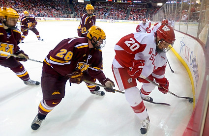 Gophers vs Badgers