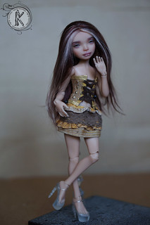 Carolina KKeRRinDolls (20 cm, polyurethan)2 | by KKeRRinDolls