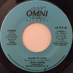 JEAN CARNE:FLAME OF LOVE(LABEL SIDE-B)