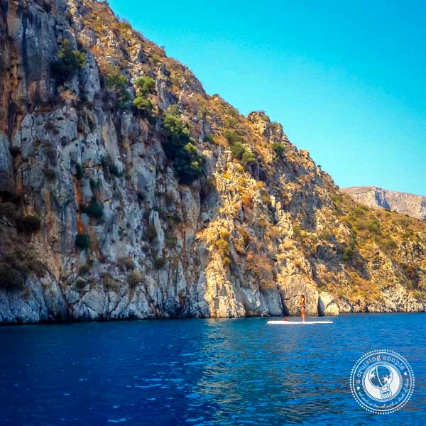 Stand Up Paddle Board Yoga on Kalymnos, Greece