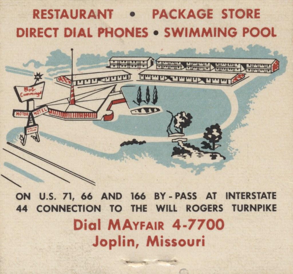 Bob Cummings Motor Hotel - Joplin, Missouri