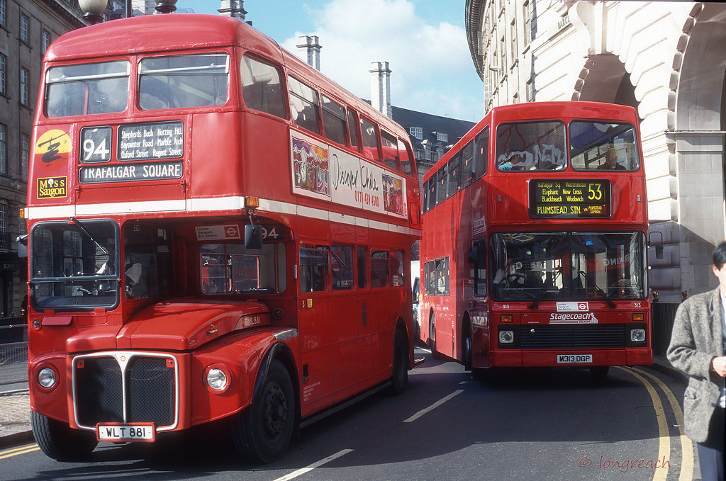 London 1995 Album Uk Buses 1990 S London United