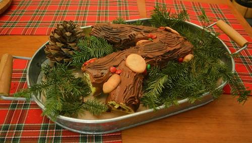 Cake De Noel Sucre Recette Marque Oli
