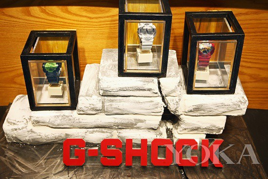 G-SHOCK TOUGHNESS for display