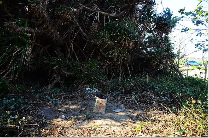 隙子三等三角點(# 192 Elev. 10 m)