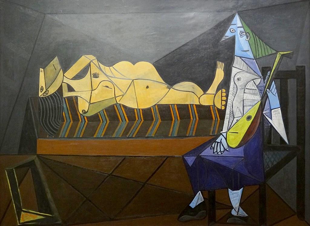 """""""L'aubade"""", Pablo Picasso, 1942. Centre Pompidou, Paris ..."""