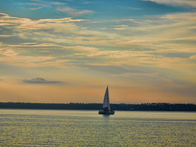 Orange Beach Sailboat